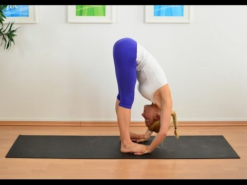 lose weight by padhastasana from Chinmay Yoga