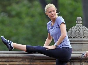 Gwyneth Paltrow at Chinmay Yoga