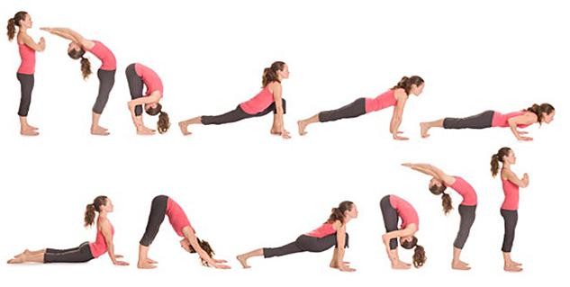 Surya Namaskar at Chinmay Yoga