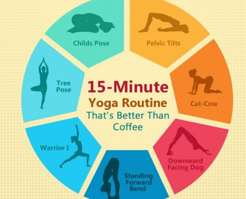 Looking for a quick yoga session? These asanas will refresh you in no time!