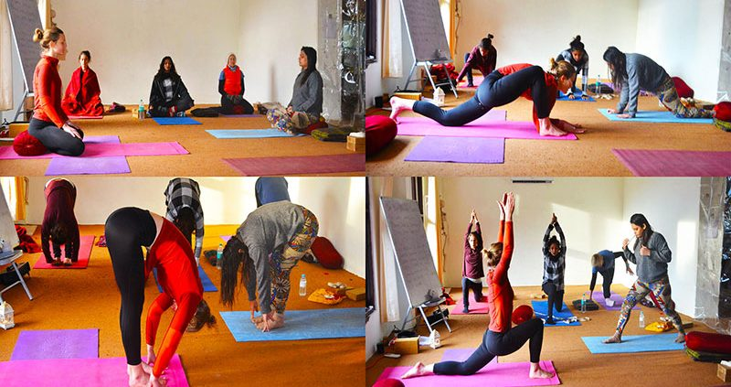 Certified YTT at Chinmay Yoga, India